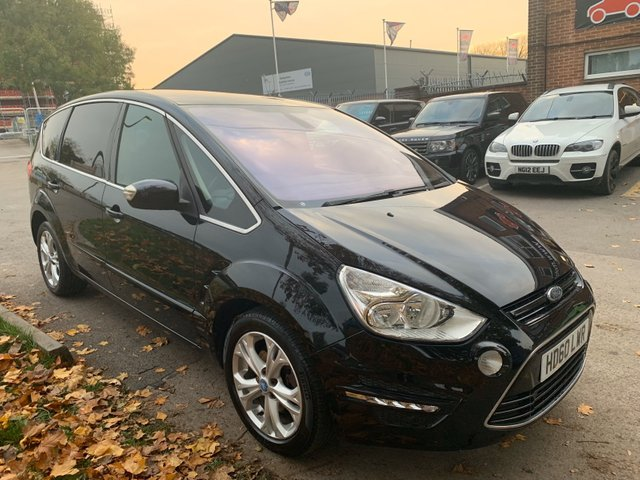 USED 2010 60 FORD S-MAX 2.0 TITANIUM TDCI 5d 138 BHP 7 SEATER STUNNING EXAMPLE WITH ALLOY WHEELS, PARK SENSORS, HEATED WINDSCREEN, RADIO/CD, CRUISE CONTROL, CLIMATE CONTROL, AIR CONDITIONING