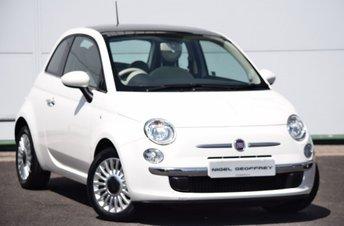 2011 FIAT 500 1.2 LOUNGE 3d 69 BHP £3950.00
