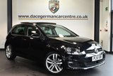 "USED 2016 16 VOLKSWAGEN GOLF 1.4 GT EDITION TSI ACT BMT 5DR 148 BHP full service history Finished in a stunning black styled with 18"" alloys. Upon opening the drivers door you are presented with half suede upholstery, full service history, satellite navigation, bluetooth, sunroof, cruise control, heated electric folding mirrors, usb/aux port/ parking sensors"