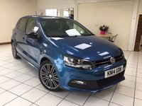 USED 2014 14 VOLKSWAGEN POLO 1.4 BLUEGT 5d 140 BHP