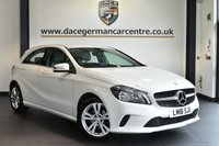 """USED 2016 16 MERCEDES-BENZ A CLASS 1.5 A 180 D SPORT 5DR 107 BHP full service history Finished in a stunning calcite white styled with  17"""" alloys. Upon opening the drivers door you are presented with full leather interior, full service history, bluetooth, rear-view camera, attention assist, rain sensors, eco start"""