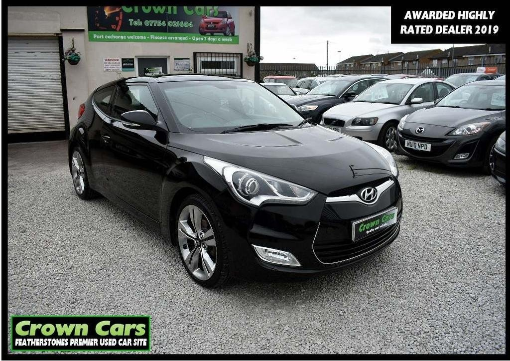 USED 2013 63 HYUNDAI VELOSTER 1.6 Sport (Media Pack) 4dr 3 MONTHS WARRANTY & PDI CHECKS