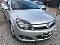 USED 2010 60 VAUXHALL ASTRA 1.6 i Sport Twin Top 2dr