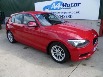 2012 BMW 1 SERIES 2.0 118d SE 5dr £6945.00