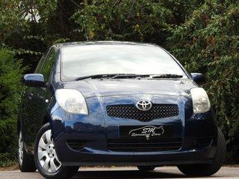 2006 TOYOTA YARIS 1.3 T3 VVT-I MM 5d AUTO 86 BHP £3390.00