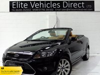 USED 2008 08 FORD FOCUS 2.0 CC3 2d 135 BHP
