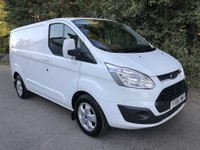 USED 2016 66 FORD TRANSIT CUSTOM 2.0 270 LIMITED LR P/V 1d 129 BHP