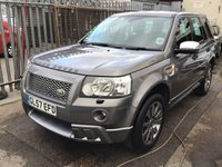 USED 2007 57 LAND ROVER FREELANDER 2.2 TD4 GS 5d 159 BHP Diesel, alloys, air/con, one owner plus supplying dealer, service history.