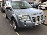 USED 2007 07 LAND ROVER FREELANDER 2.2 TD4 GS 5d 159 BHP Great value diesel freelander, 6 speed gearbox, air/con, alloys, superb