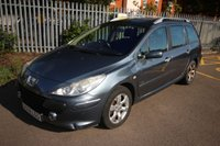 USED 2008 08 PEUGEOT 307 1.6 SW S HDI 5d 108 BHP LONG MOT TO 06/2020 GOOD SPEC CHEAP WORKHORSE