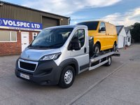 USED 2016 66 PEUGEOT BOXER 2.0 BLUE HDI S/S 440 L3 160 BHP RECOVERY [EURO 6]