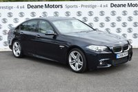 USED 2016 66 BMW 5 SERIES 3.0 535D M SPORT 4d AUTO 309 BHP MASSIVE SPECIFICATION