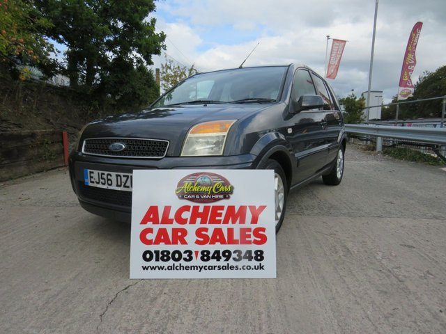 USED 2006 56 FORD FUSION 1.4 ZETEC CLIMATE 5d 68 BHP