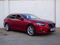2015 MAZDA 6 2.2 D SPORT NAV 5d 173 BHP £7350.00