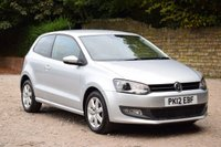 USED 2012 12 VOLKSWAGEN POLO 1.2 MATCH 3d 59 BHP