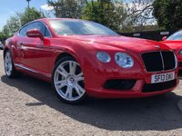 2013 BENTLEY CONTINENTAL GT V8 £57990.00