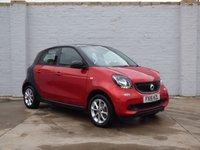 2015 SMART FORFOUR 1.0 PASSION 5d 71 BHP £4200.00