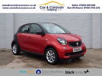 USED 2015 15 SMART FORFOUR 1.0 PASSION 5d 71 BHP Full Dealer History Bluetooth Buy Now, Pay Later Finance!