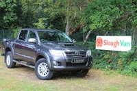 USED 2015 15 TOYOTA HI-LUX 3.0 INVINCIBLE 4X4 D-4D DCB  169 BHP Full Leather, Reverse Camera, Air Conditioning