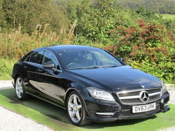 2013 MERCEDES-BENZ CLS CLASS 2.1 CLS250 CDI BLUEEFFICIENCY AMG SPORT 4d AUTO 204 BHP £11490.00
