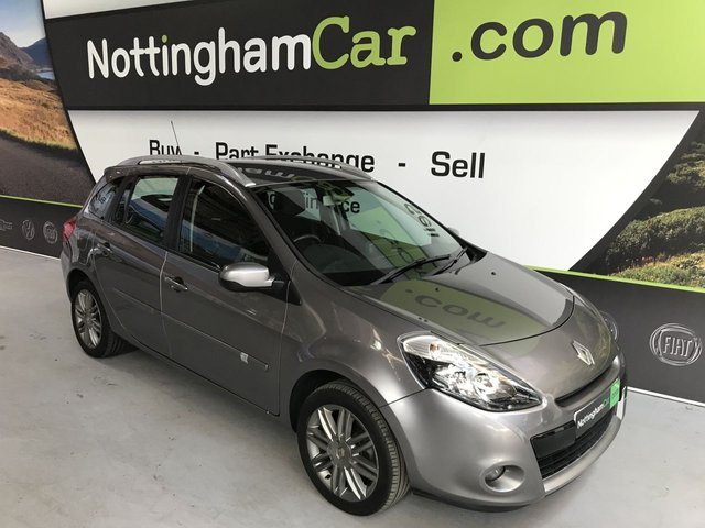 USED 2012 12 RENAULT CLIO 1.6 DYNAMIQUE TOMTOM VVT 5d AUTO 111 BHP