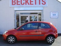 USED 2008 08 FORD FIESTA 1.2 STYLE CLIMATE 16V 3d 78 BHP