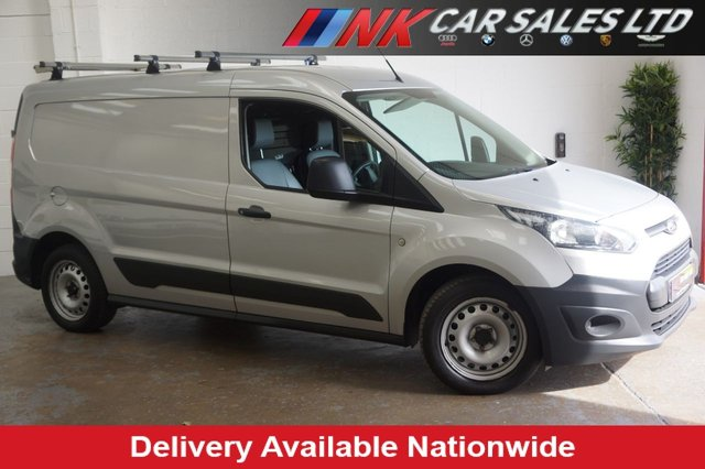 2014 14 FORD TRANSIT CONNECT 1.6TDCI 95 240 L2 LWB IN METALLIC SILVER RESERVED FOR JAMES FROM SHEFFIELD