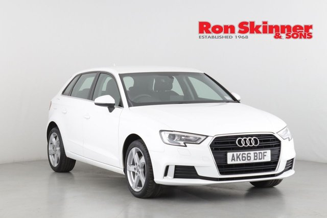 View our 2016 66 AUDI A3 1.0 SPORTBACK TFSI SPORT 5d 114 BHP