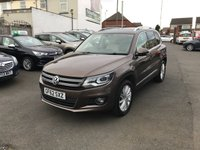 USED 2012 62 VOLKSWAGEN TIGUAN 2.0 SE TDI BLUEMOTION TECHNOLOGY 4MOTION DSG 5d AUTO 138 BHP FULL SERVICE HISTORY-AUTOMATIC-SAT NAV-BLURTOOTH-HEATED LEATHER SEATS-1FORMER KEEPER