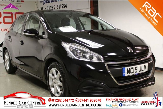 USED 2015 15 PEUGEOT 208 1.6 BLUE HDI ACTIVE 5d 75 BHP RAC Approved I Finance From 4% Flat I RAC Platinum Warranty Included