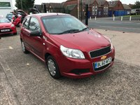 USED 2011 60 CHEVROLET AVEO 1.2 S 3d 83 BHP LOW MILEAGE-SERVICE HISTORY-1.2 PETROL ENGINE-12 MONTHS MOT