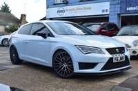 USED 2017 66 SEAT LEON 2.0 TSI CUPRA BLACK DSG 3d AUTO 286 BHP COMES WITH 6 MONTHS WARRANTY