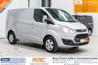 2016 FORD TRANSIT CUSTOM 2.2 270 LIMITED * HEATED SEATS + AIR CON * £11995.00