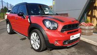 USED 2016 66 MINI COUNTRYMAN 2.0 COOPER SD ALL4 5d 141 BHP GREAT VALUE+FANTASTIC SPEC+SAT NAV+CHILI PACK+XENONS+PARKING SENSORS+FULL LEATHER