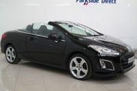 2012 PEUGEOT 308 2.0 HDI CC ALLURE 2d 163 BHP £5950.00
