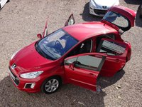 USED 2012 12 PEUGEOT 308 1.4 ACTIVE 5d 98 BHP FORMER LADY OWNER, FULL SERVICE HISTORY, BLUETOOTH, ALLOY WHEELS, HPI CLEAR