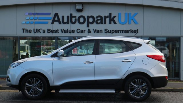 USED 2014 64 HYUNDAI IX35 1.7 SE CRDI 5d 114 BHP LOW DEPOSIT OR NO DEPOSIT FINANCE AVAILABLE