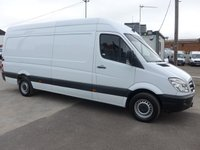 USED 2013 63 MERCEDES-BENZ SPRINTER 313 CDI LWB HI ROOF, 130 BHP [EURO 5]