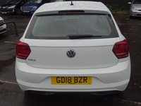USED 2018 18 VOLKSWAGEN POLO 1.0 SE 5d 65 BHP LOW MILEAGE EXAMPLE FINANCE AVAILABLE