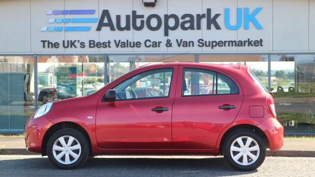 USED 2012 12 NISSAN MICRA 1.2 VISIA 5d 79 BHP LOW DEPOSIT OR NO DEPOSIT FINANCE AVAILABLE