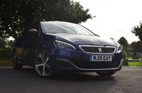 USED 2015 15 PEUGEOT 308 1.6 THP S/S GT 5d 205 BHP