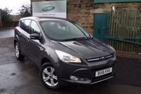USED 2016 16 FORD KUGA 1.5 ZETEC 5d 148 BHP One Owner Full Ford Service History