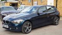USED 2014 64 BMW 1 SERIES 2.0 116D SPORT 5d AUTO 114 BHP