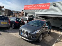 USED 2014 14 PEUGEOT 3008 1.6 E-HDI ACTIVE 5d AUTO 115 BHP ONLY 19467 MILES FROM NEW WITH FULL MAIN DEALER SERVICE HISTORY! ALLOYS, PARKING SENSORS, AIR CON AND ONLY £20 ROAD TAX