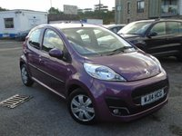 USED 2014 14 PEUGEOT 107 1.0 ACTIVE 5d 68 BHP GREAT VALUE+GOOD HISTORY