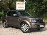 USED 2014 64 LAND ROVER DISCOVERY 4 3.0 SDV6 SE 5dr AUTO 1 Owner, FLRSH. Great Spec