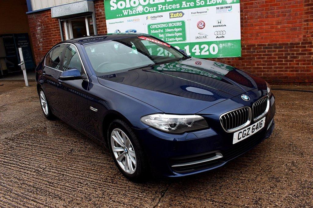 2016 66 BMW 5 SERIES 2.0 518D SE 4d 148 BHP