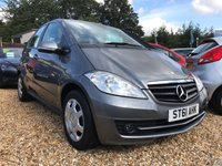 USED 2011 61 MERCEDES-BENZ A CLASS 1.5 A160 BLUEEFFICIENCY CLASSIC SE 5d 95 BHP CLEAN ALL ROUND VEHICLE: