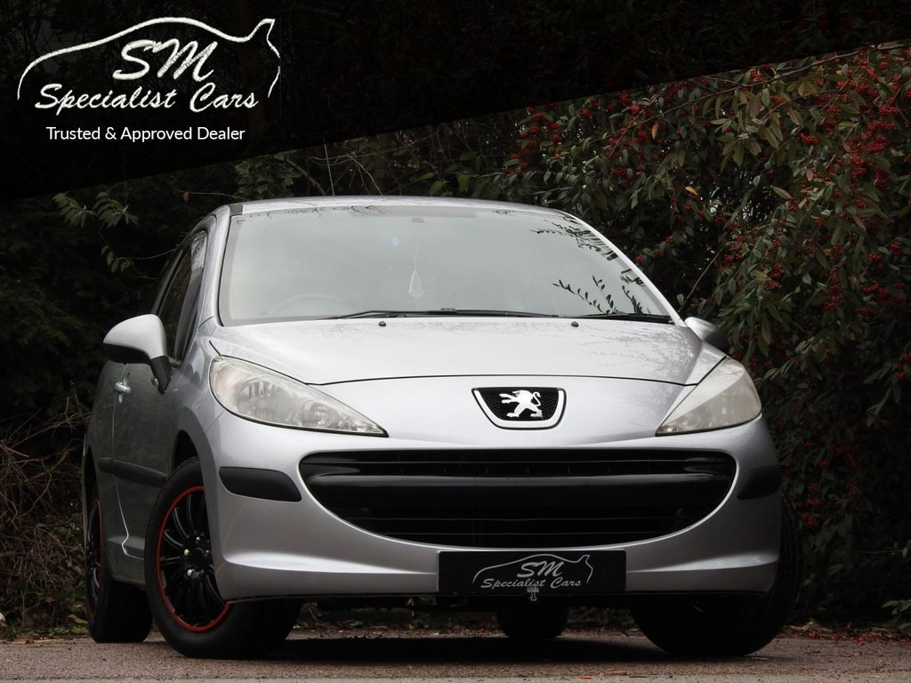 USED 2006 06 PEUGEOT 207 1.4 S 3d 88 BHP ONLY 59K FROM NEW A/C