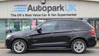 USED 2013 13 BMW X3 2.0 XDRIVE20D M SPORT 5d AUTO 181 BHP LOW DEPOSIT OR NO DEPOSIT FINANCE AVAILABLE